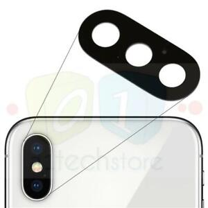 sports shoes 3e957 8675d Details about Apple iPhone X Genuine Replacement Rear Glass Camera Lens  Repair Part Adhesive