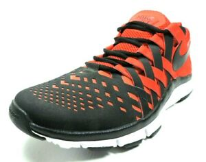 Nike-Free-Trainer-5-0-Mens-Shoes-579809-601-Running-Sneakers-Leather-Black-Red