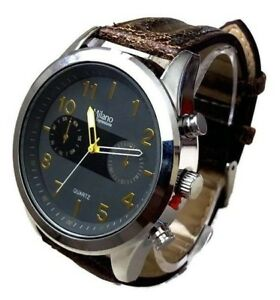 Men's Fashion Watch Milano MC43894 Mens Casual Watch 1 ATM Water Resistant