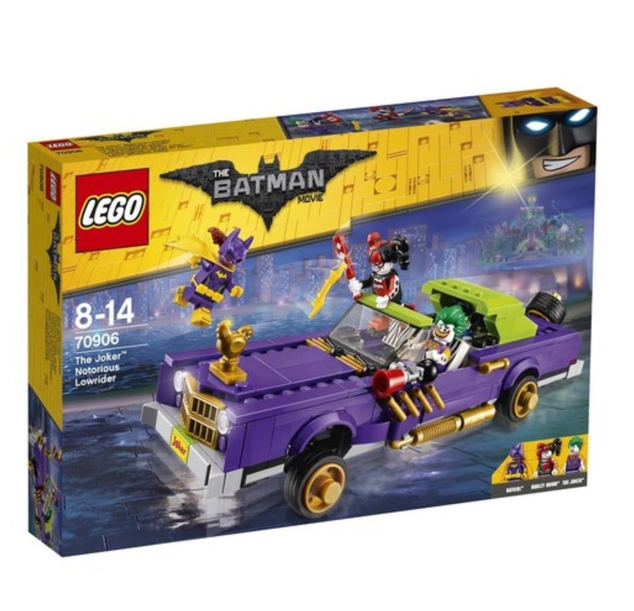 [LEGO] Batman Movie The Joker™ Notorious Lowrider 70906 2017 Version Free Ship