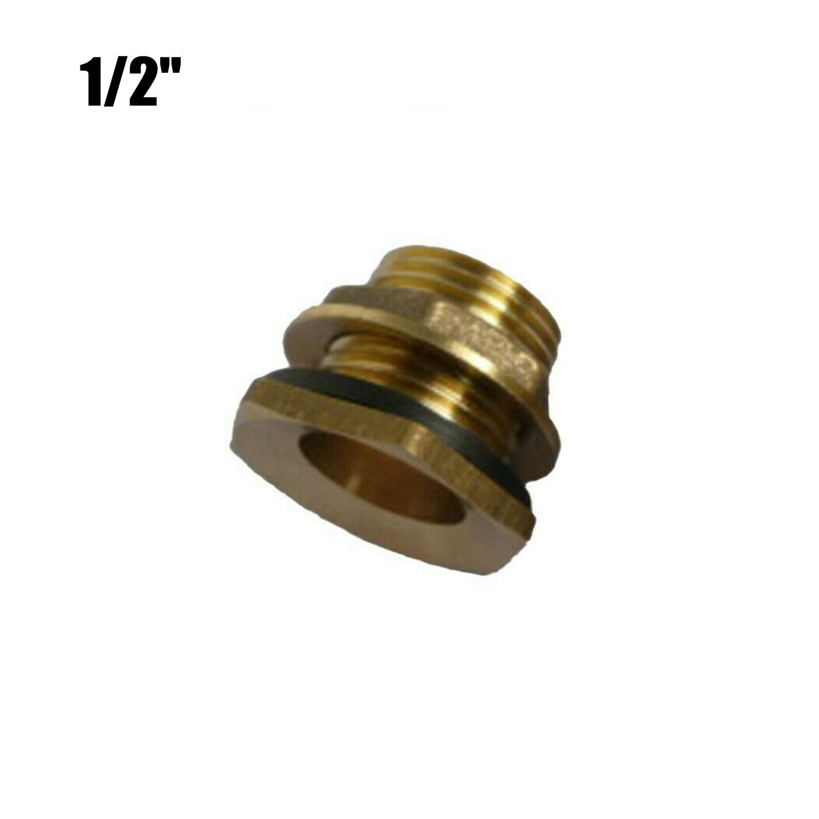 Water Connector Brass Bib Tap With Click-lock Fitting Anti-corrosion Equipmen ~