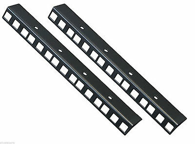 5U Rack Strip pair  made by AllMetalParts in black
