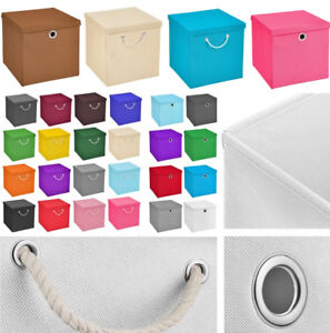 Details Zu Faltbox Regalbox Faltkiste Box Aufbewahrungsbox Kiste Kinder Staubox Korb Regal