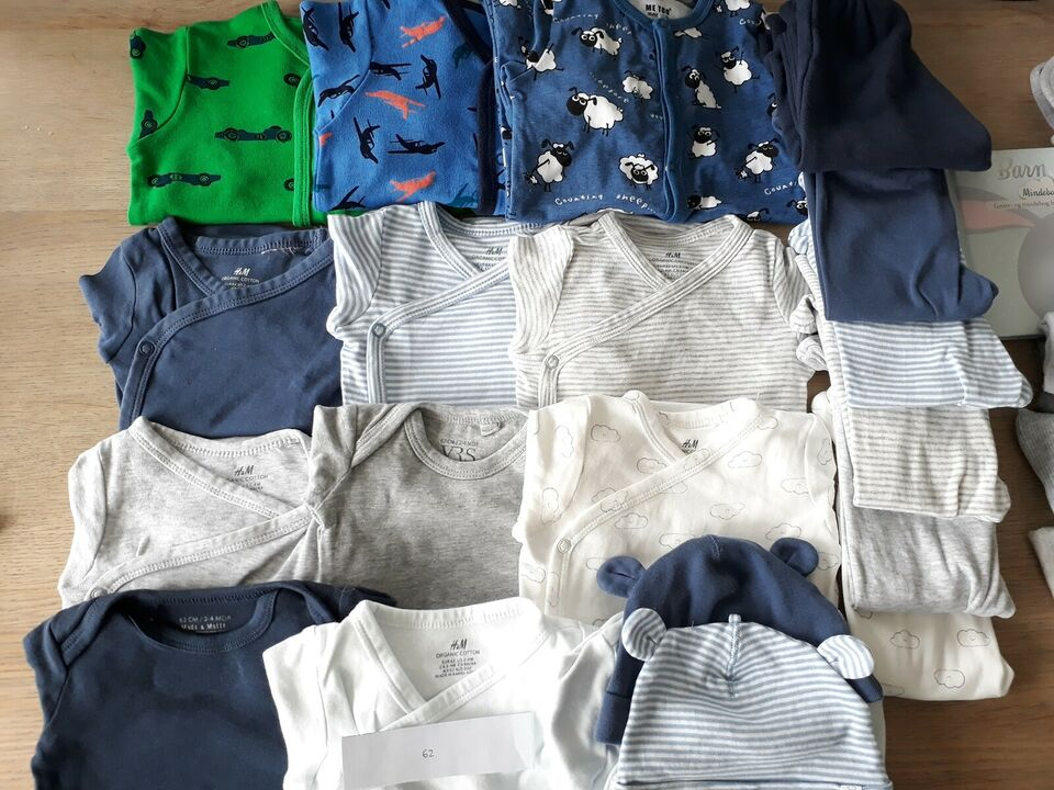 Blandet tøj, body'er, bukser
