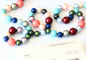 6d6f29b2c45d0 Details about Genuine SWAROVSKI 5811 Large Round Crystal Pearls Beads *  Many Colours