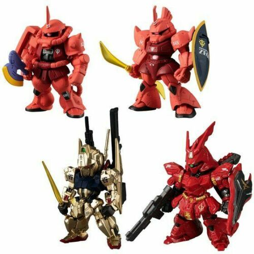 NEW Bandai FW GUNDAM CONVERGE:CORE Red Comet Figure 4 type Set from Japan