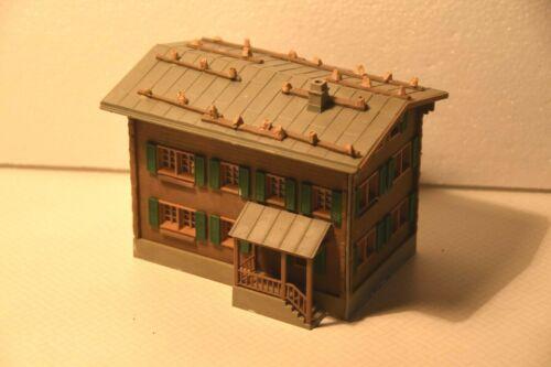 fertig gebaut Faller//Kibri//Wiad  Alpen-Häuser einzeln