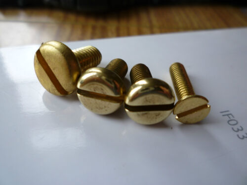 Weihrauch and Beeman  Hw 97 and Hw 77 Brass Fore End And T//Guard Screws