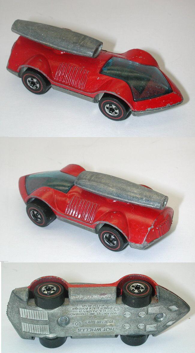 Entrega rápida y envío gratis en todos los pedidos. rojoline Hotwheels Rojo 1973 Rocket Bye Bye Bye Baby oc1377  el precio más bajo