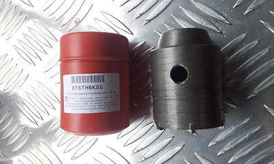 ETSTHBK75 Kernbohrer Hartmetall Bohrkrone Dosenbohrer Stein Beton 75mm