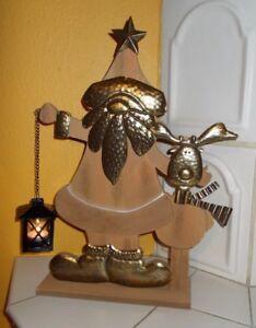Weihnachtsmann-Deko-Figur-034-Santa-amp-Rudi-034-Toller-Blickfang-Geschenkidee