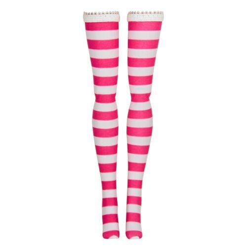 Poppy Parker Stripe Doll Stockings for Integrity Toys Fashion Royalty Jem