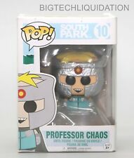 "PROFESSOR CHAOS South Park Pop Television 4/"" inch Vinyl Figure #10 Funko 2017"