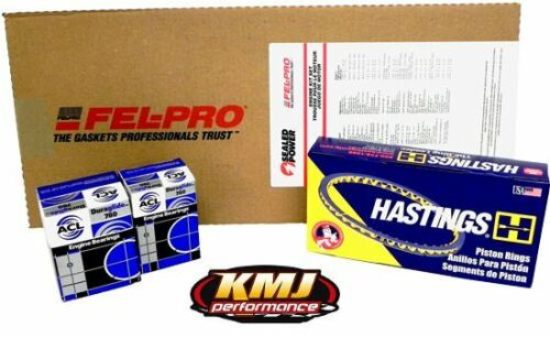 CHEVY 454 ENGINE OVERHAUL MOLY RE-RING KIT 070-STD-STD
