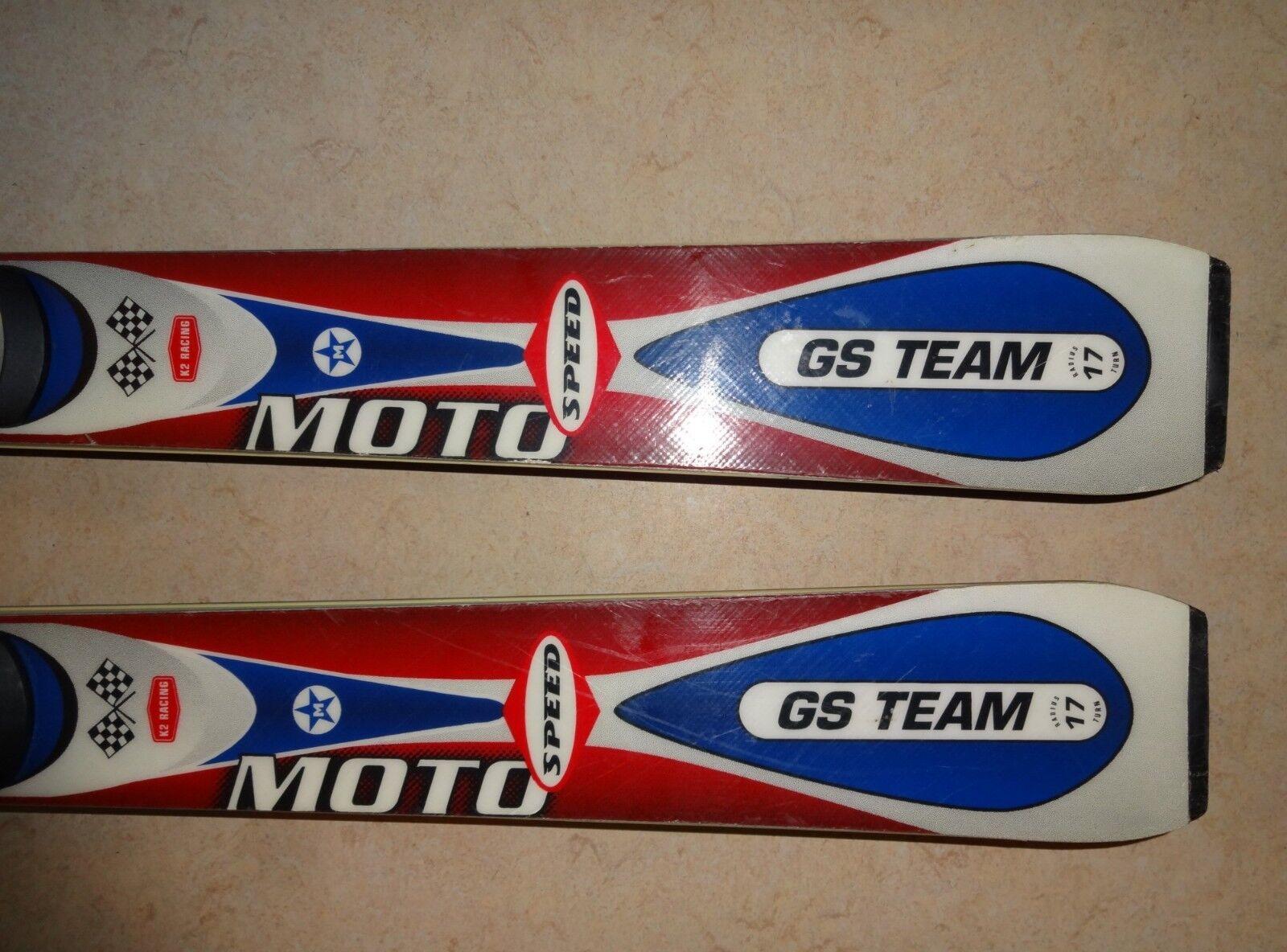 K2 Moto GS GS GS Team Ski 1,67 Voekl Head Atomic Ski Marker Bindung 16ae86