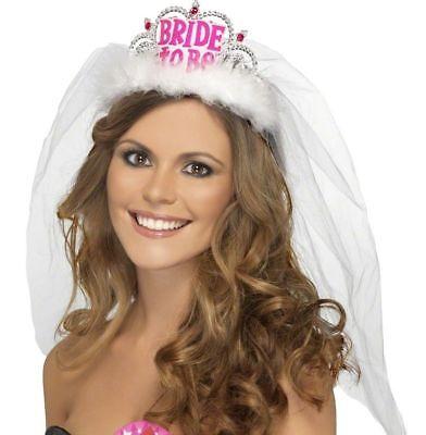 Enterrements BRIDE-TO-BE Diad/ème Avec Un Voile Mariage