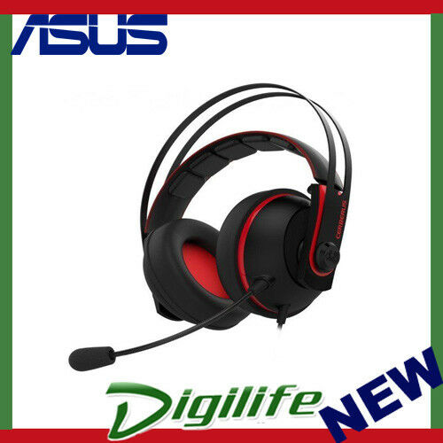 ASUS Cerberus V2 Gaming Headset with 53mm Asus Essence Drivers - Red Colour