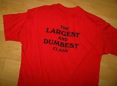 Abile Class Reunion 1976 - T-shirt Vintage Sottile Rosso Alta Scuola Belton Tough Tee