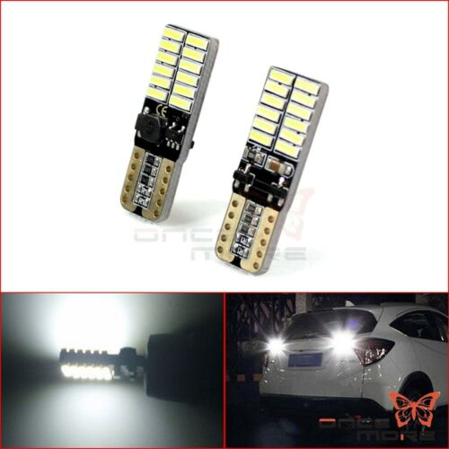 Motorcycle Car SMD 4014 T10 W5W LED Reading Light White For Fog Turn Signal Lamp