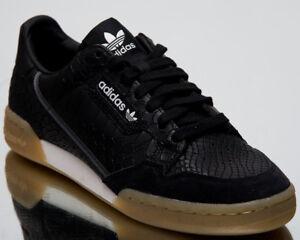 Detalles acerca de Adidas Originales Continental 80 Python para hombres  zapatos de estilo de vida Core B41678 Negro- mostrar título original