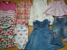WINTER AUTUMN 100% NEXT 14x bundle baby girl clothes 6/9 mths 9/12 MTHS 1.3P