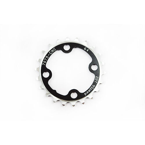 Driveline AL7075 Mountain MTB Bike Bicycle 9 Speed Chainring BCD 64mm 22T