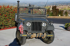 1962 Willys M38 A1 open