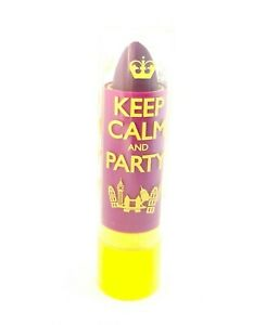 Details about 2 x Rimmel Keep Calm & Party Lip Balm Violet Blush 050 Joblot