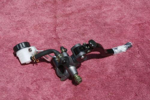 Left Radial Master Cylinder Stunt Bike Brake Clutch FZR YZF CBR ZX metal gray//bl