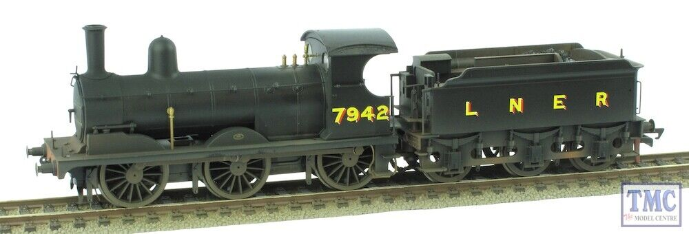 R3529 Hornby OO Gauge LNER J15 Class 0-6-0 no.65477 (Era 3) Coal & Weatherosso