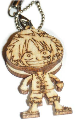 Anime Phone Strap Bag Charm Keychain Black Rock Shooter One Piece My Little Sis