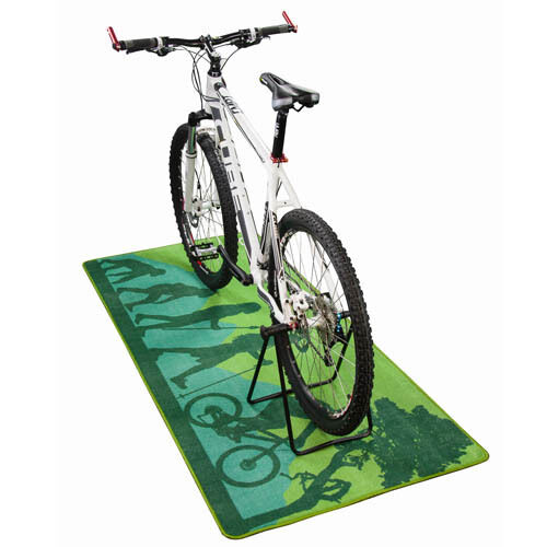 New Mountain Bike MTB Garage   Grün Workshop Floor Mat - (180cm x 80cm)