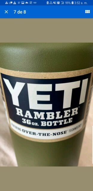 Yeti Rambler 36oz Stainless Steel Vacuum Insulated Bottle Olive Green