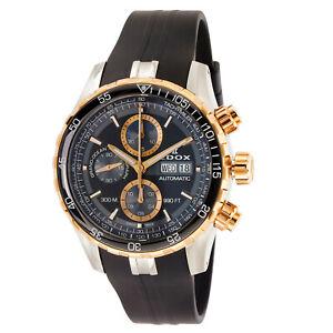 NEW-Edox-Grand-Ocean-Men-039-s-Chronograph-Automatic-Watch-01123-357RCA-NBUR