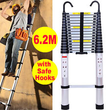 Telescoping Step Ladder Multi-Function Ladders Folding Expandable Collapsible A+
