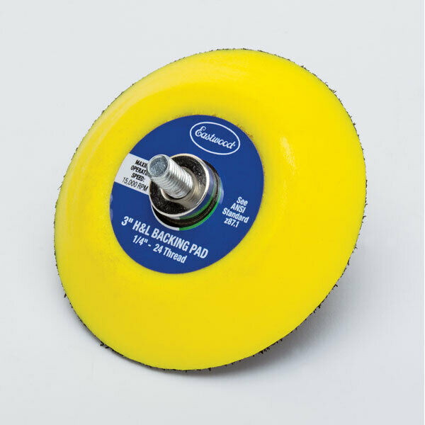 Eastwood 3 inch Hook & Loop Backing Pad For Orbital Sander120V 60Hz Requirement. Buy it now for 14.99