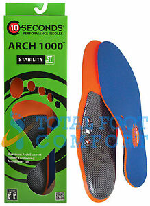 10-Seconds-Arch-1000-Performance-Insoles-for-Superior-Arch-Support