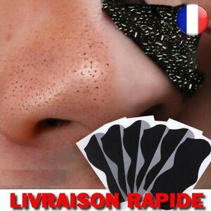 Nez Points Noirs Dissolvant Masque Pores Nettoyant Acné Traitement Bande Propre