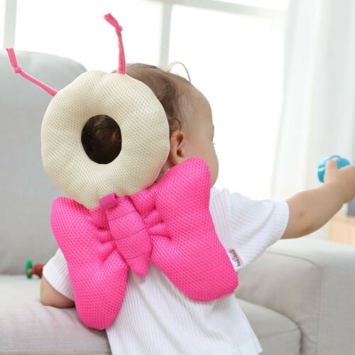 Cute Baby Infant Toddler Newborn Head Back Protector Safety Pad Harness Headgear