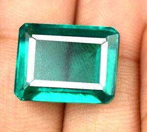 Colombian Emerald Gemstone emerald Cut 19.60 Ct 100% Natural AGI Certified Z5777