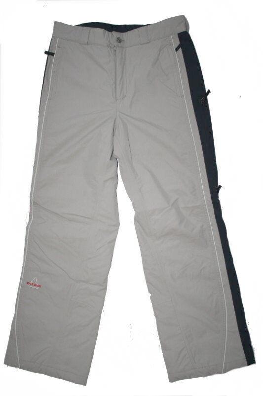 SOS Skihose Snowboardhose WS Stripe Pant Pant Gr.38 grey NEU