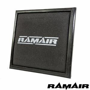RAMAIR-Schaum-Ersatz-Performance-Luftfilter-Panel-Fuer-Vauxhall-Opel-Corsa-D