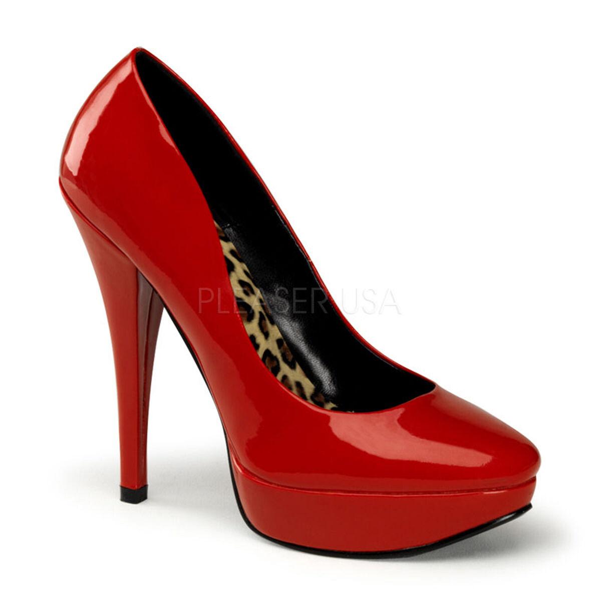 PINUP HARL01/RPT Platform Sexy Red Shoes Retro Stiletto High Heels Platform HARL01/RPT Pumps a4ef1b