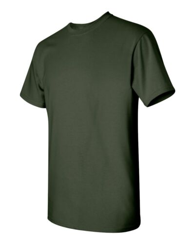 Blanc Solide Homme à Manches Courtes Tee S-XL 5000 environ 150.25 g Gildan Heavy Cotton t-shirts 5.3 Oz