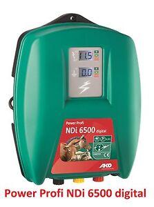 RECINTO-ELETTRICO-230-V-Ako-Power-PROFESSIONALE-DIGITALE-ndi-6500-stromgeraet