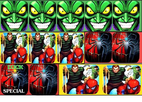 Bello Spiderman Bersaglio Telaio Armour-new Materiale Garanzia A Vita