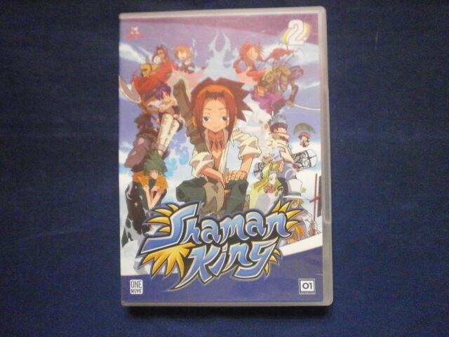 SHAMAN KING n 2 - CARTONE ANIMATO IN DVD ORIGINALE -visitate COMPRO FUMETTI SHOP