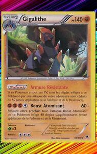 XY4:Vigueur Spectrale 50/119 Gigalithe Holo Carte Pokemon Neuve Française