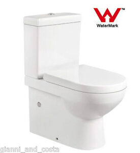 TOILET-SUITE-CERAMIC-BACK-TO-WALL-SOFT-CLOSE-PP-SEAT-P-OR-S-TRAP-GC69