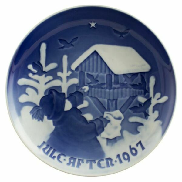 My Bing History: Bing & Grondahl Christmas Plate 1967 For Sale Online